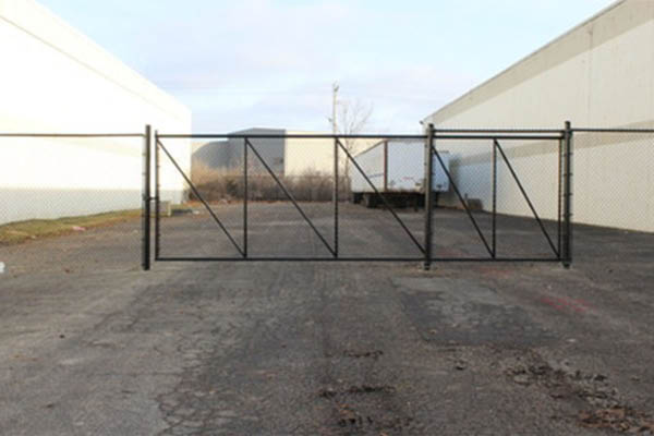 Fenced In commercial fence