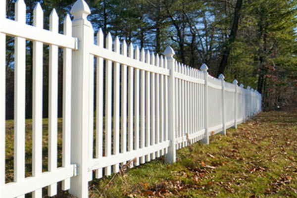 Fenced In new property fence