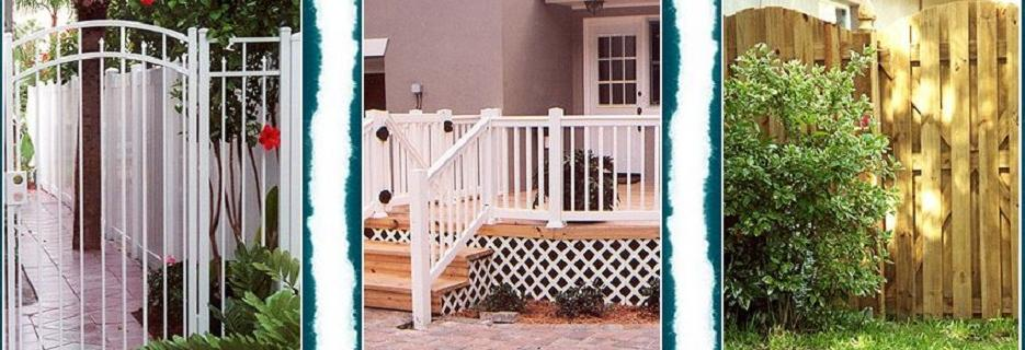 West Coast Fence Corporation Pinellas Park banner