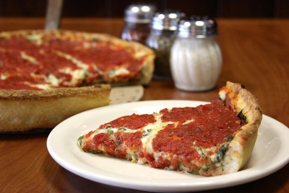 Ferentino's Pizzeria in Lake Forest, IL - the original deep dish pizza of the North Shore.
