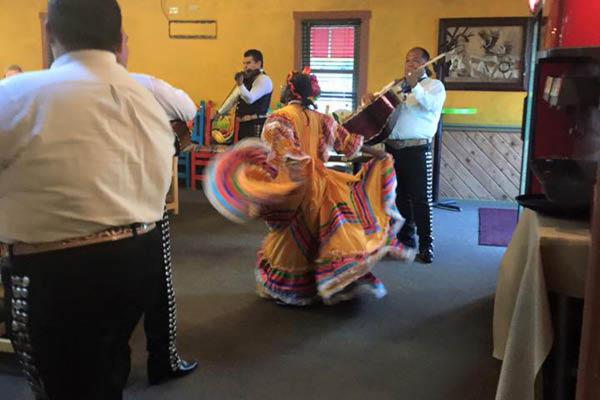 Fiesta Bar and Grill mariachi band