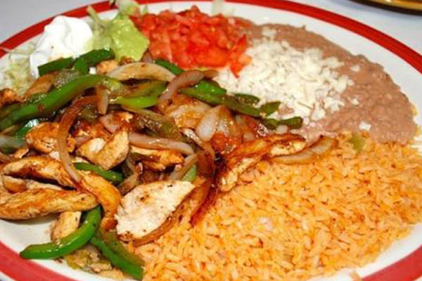 Fiesta Bar and Grill combination dinner