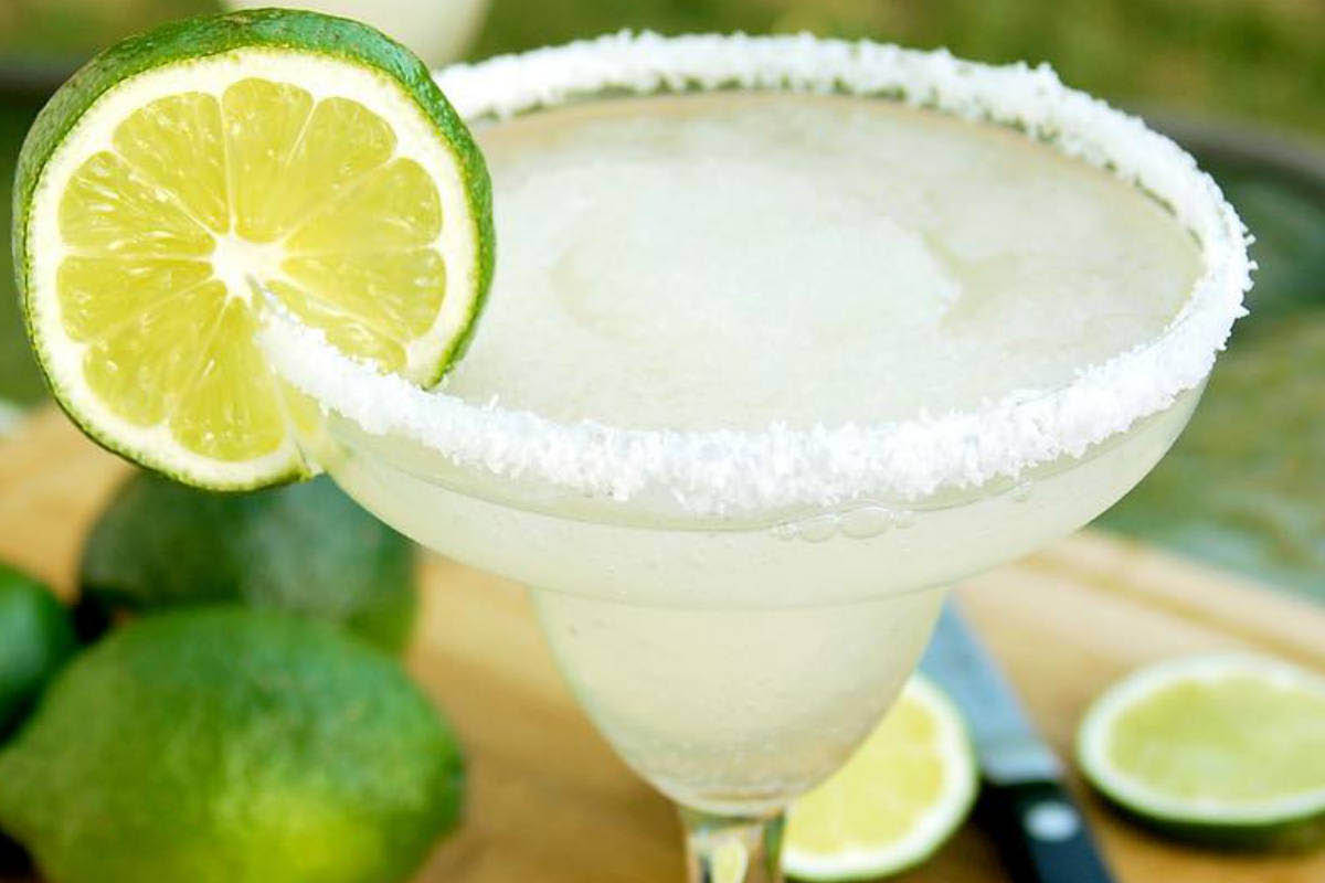 Fiesta Jalisco happy hour margarita.
