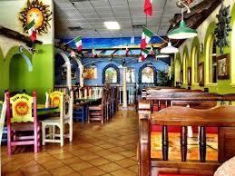 Festive and friendly Fiesta Mexicana interior