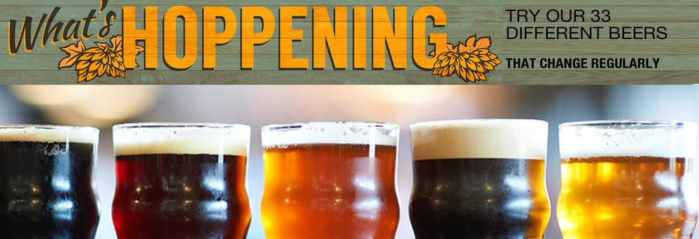Check out our tap draft beers in Milwaukee WI by the airport on Howell