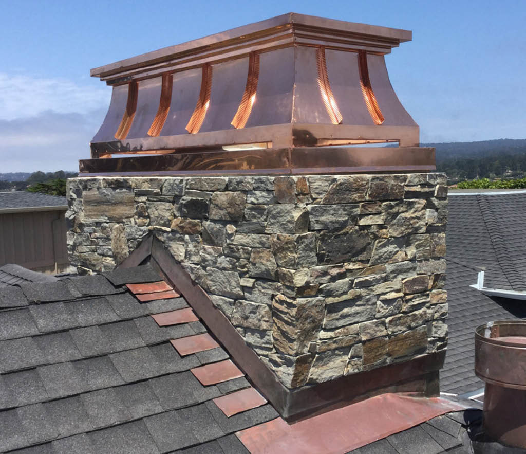 Copper Shroud from Fireplace LTD of Milwaukee