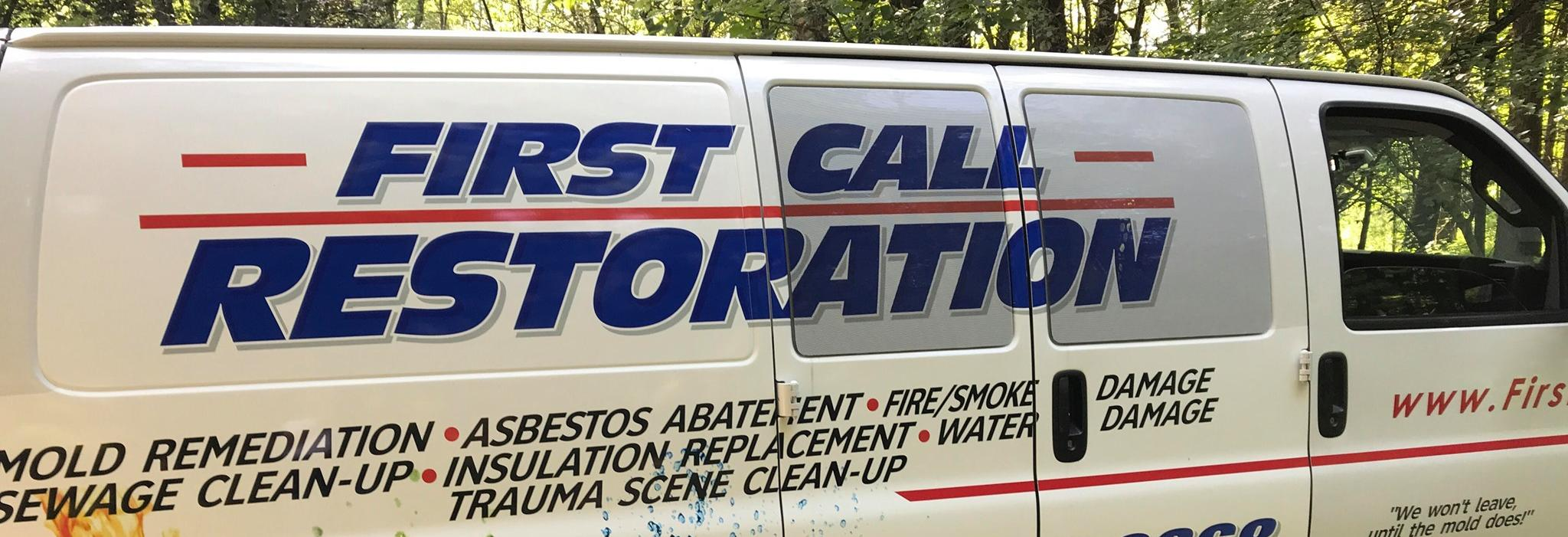 First Call Restoration - Poughkeepsie, NY banner