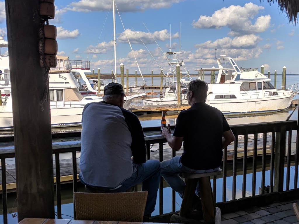 Seafood restaurant near Savannah