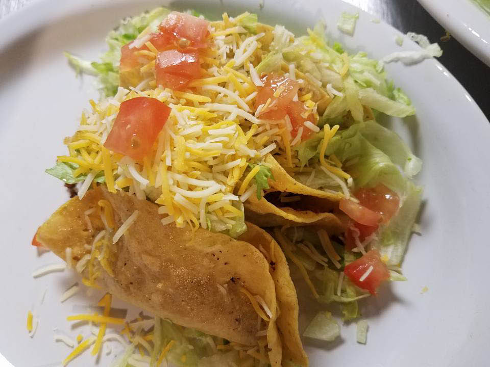 The Popular Deep Fried Tacos From Fiesta Mexican Grill & Cantina