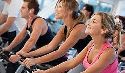 Group exercise classes at Fitness 1440 in Dallas, GA