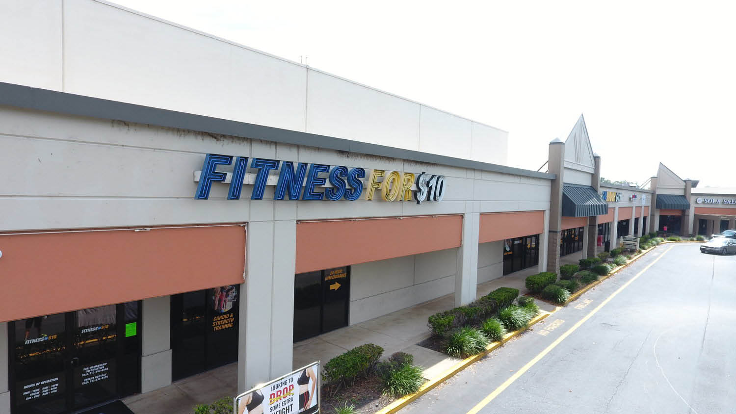 FITNESS FOR $10 Outside of gym photo