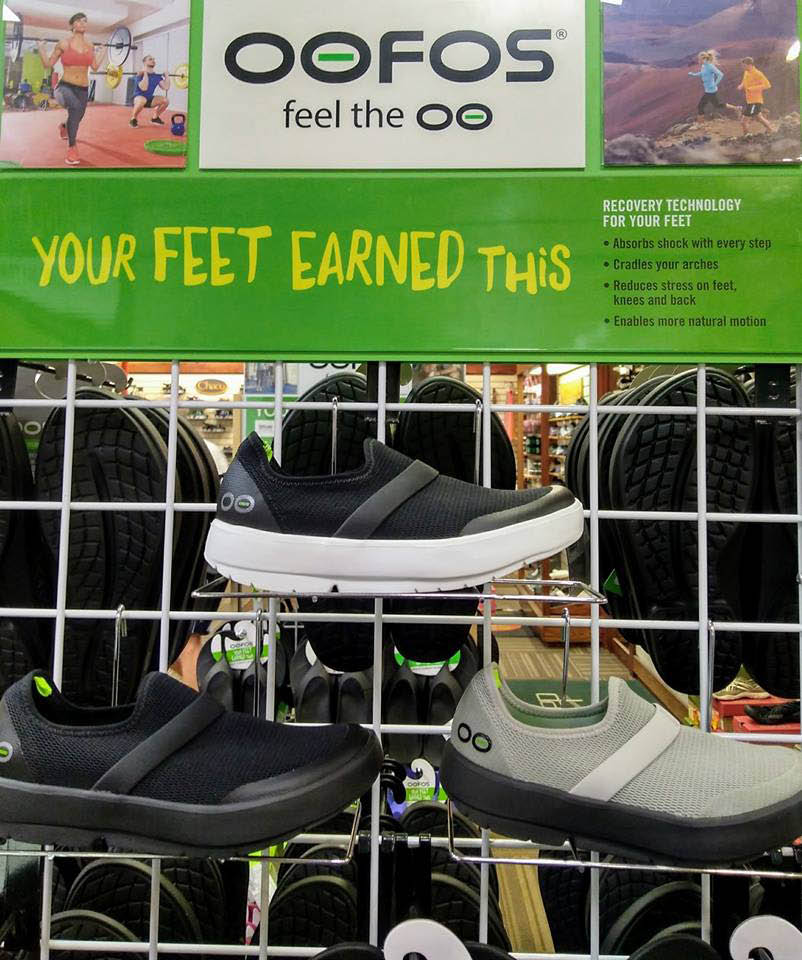Popular oofos - technology for your feet
