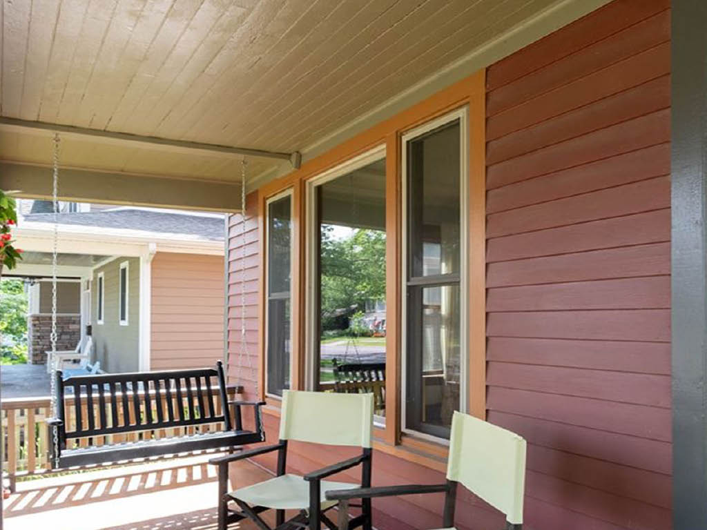 Five Star Painting North front porch