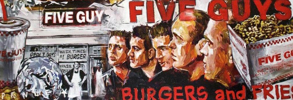 Five Guys Burgers Banner