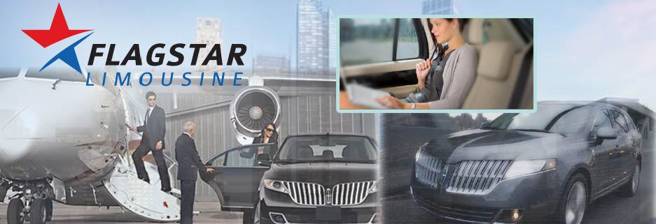 Flagstar Limousine in Norwalk, CT banner ad