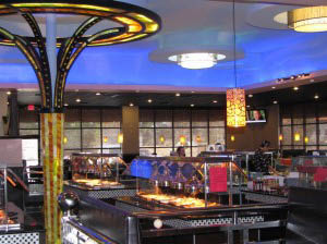 Flaming Grill Supreme Buffet interior in Columbia