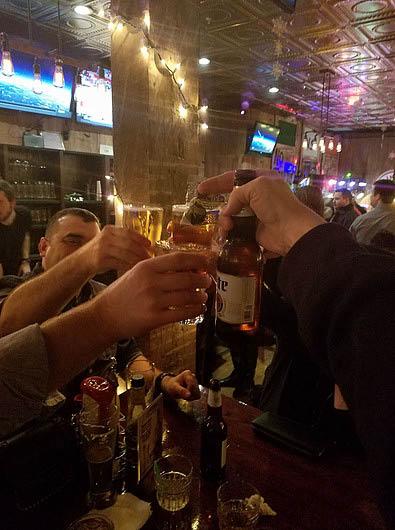 cheers drinks beer whiskey