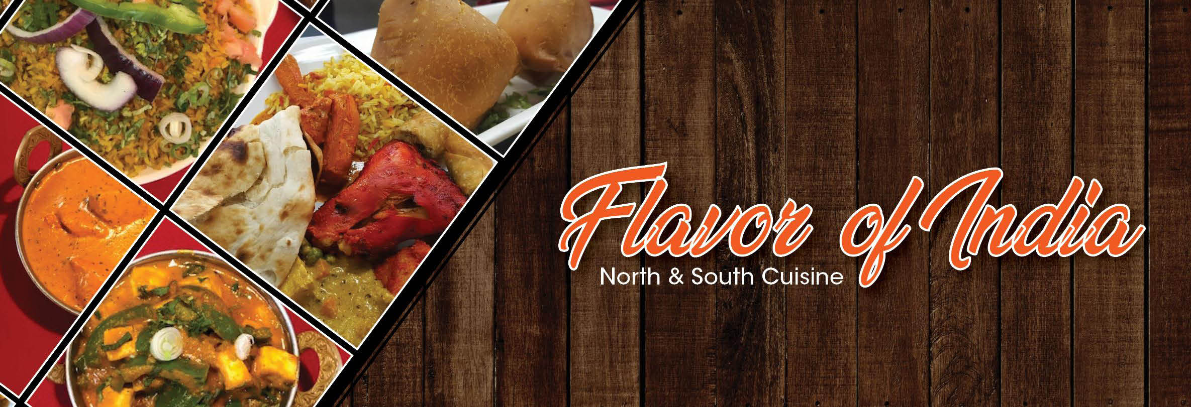 Flavor Of India North & South Cuisine in Lorenzo, CA banner