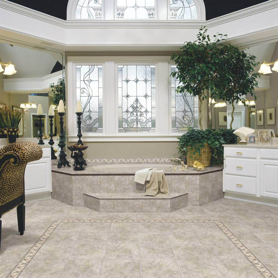 Cheap stone flooring for bathrooms near Sea Life Park