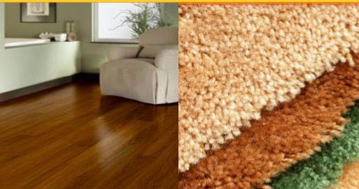 At Floors & Walls you can also find a large selection of carpet, area rugs & carpet remnants.