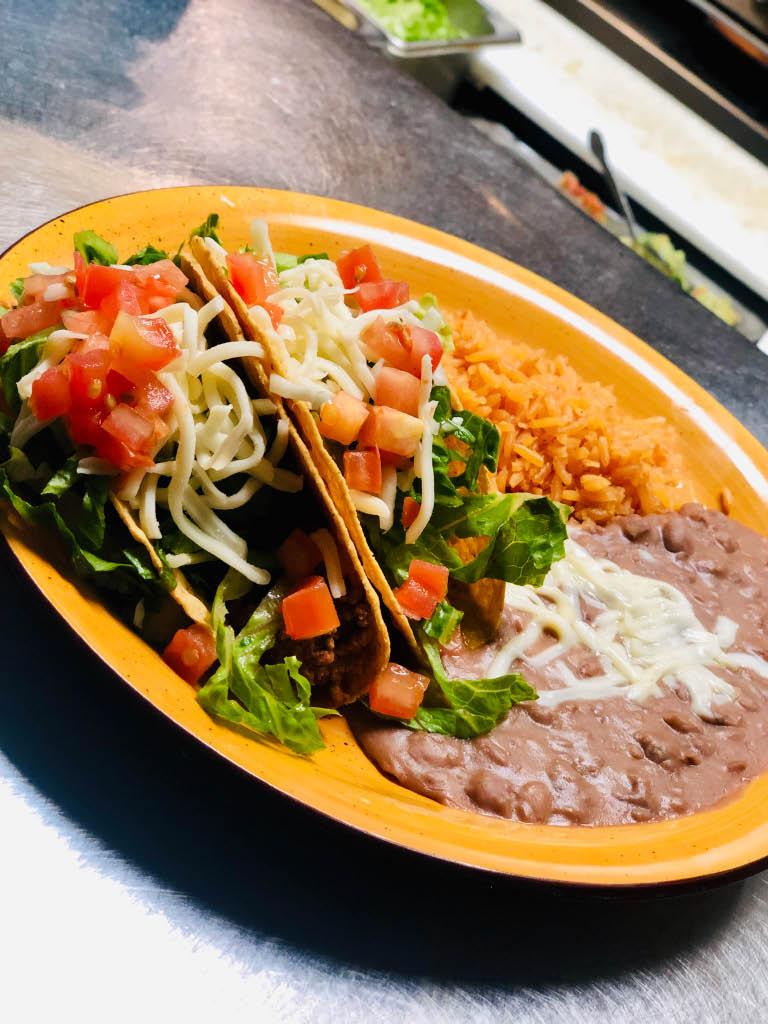 beef tacos la fuente mexican restaurant lee's summit, missouri