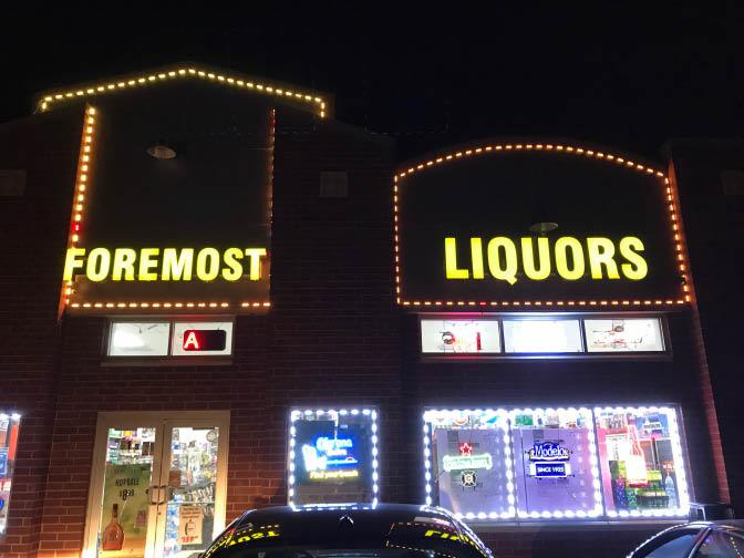 Foremost Liquors -91 S. Kennedy Dr. in Carpentersville, IL - 847-426-5572