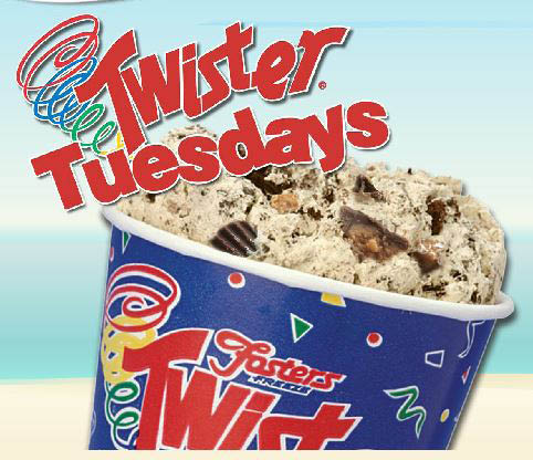Twister Tuesday Milkshakes in Santa Clarita, CA