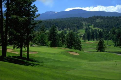 The Golf Club At Fox Acres in Red Feather, Colorado.