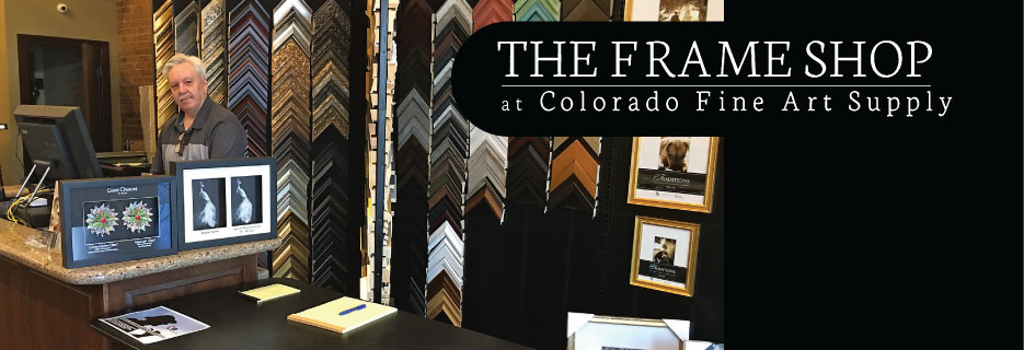 The Frame Shop at Colorado Fine Art Supply