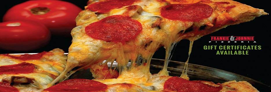 Frankie & Johnny's Pizzeria Totowa New Jersey 07512