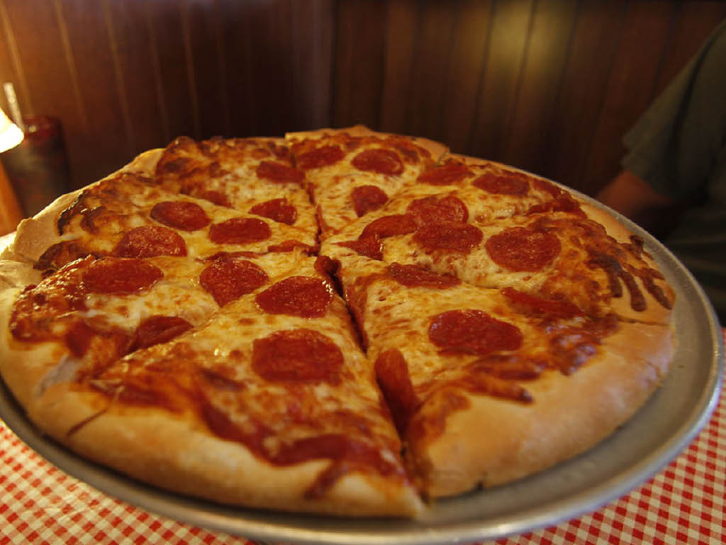Frank's Famous Stromboli's, Pizza