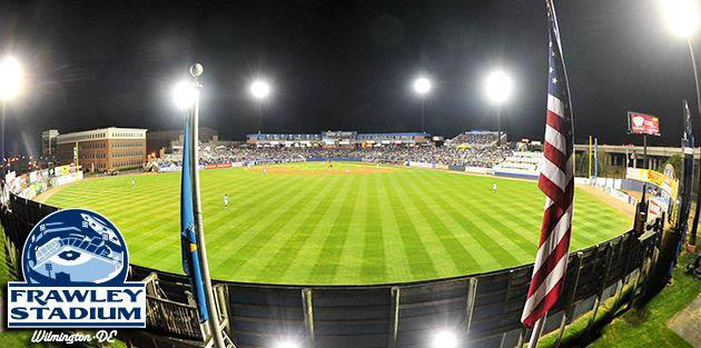 frawley stadium,wilmington,delaware,frawley stadium baseball,wilmington blue rocks frawley stadium,minor league baseball,