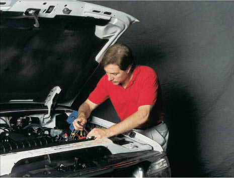 Auto tune up by ASE certified technician at Seal Beach Chevron