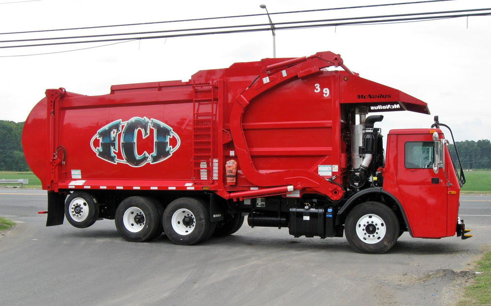 Freehold Cartage Inc, garbage, disposal, recycle, front end rollers
