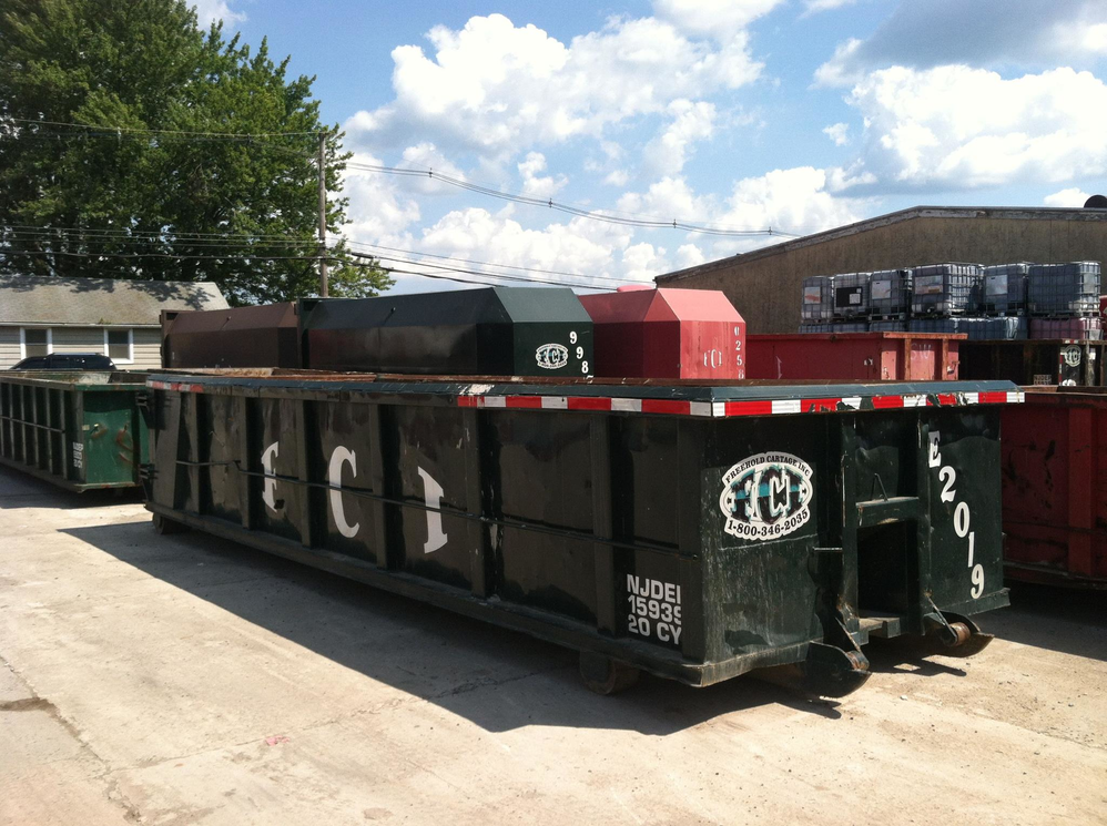garbage, trash, pick up, recycling, rentals, freehold cartage, local, Monmouth county