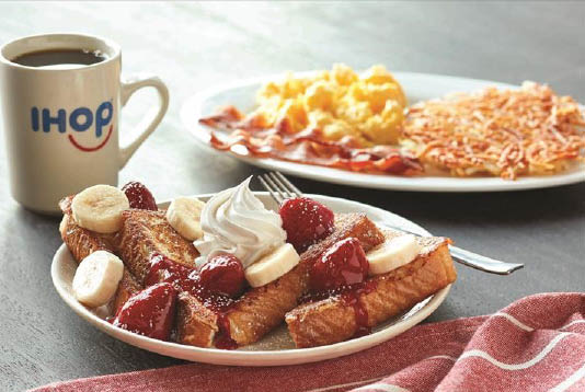 Ihop's Fresh market summer menu