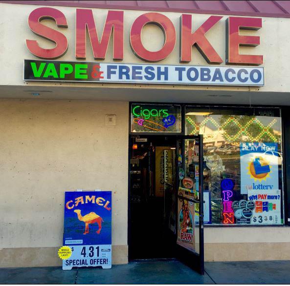 Smoke shop near Anaheim