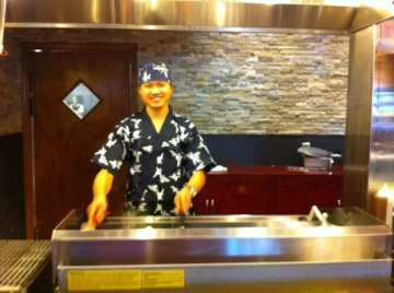 Chef at Sushi Bar at Friendly's Buffet