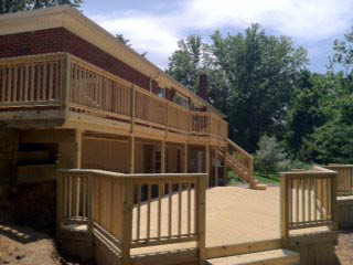 deck build and construction services