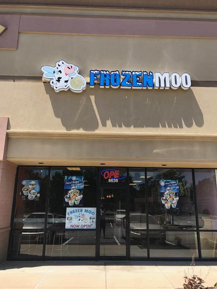 Frozen Moo storefront