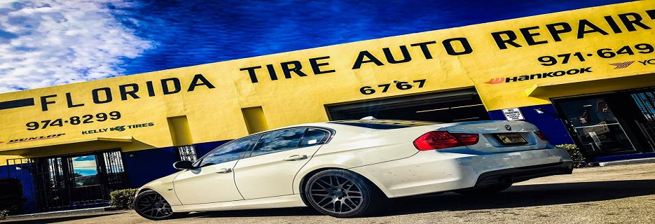Florida Tire & Auto Repair banner Fort Lauderdale, FL
