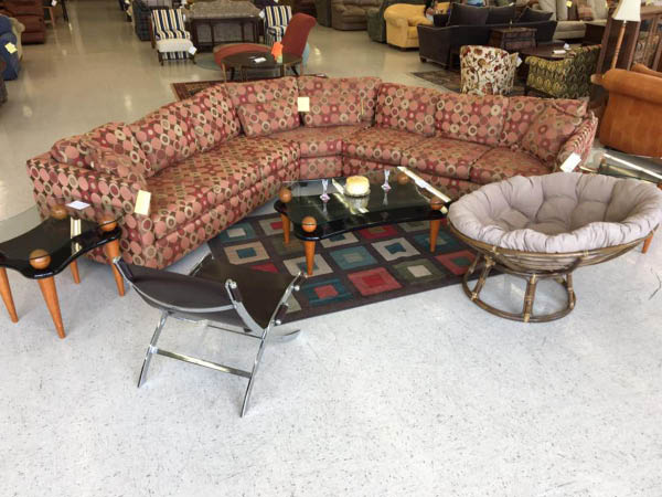 Furniture with a Heart Thrift Store home decor