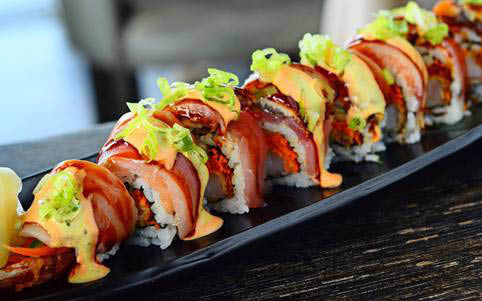 Fushimi Sushi and Seafood Buffet made to order