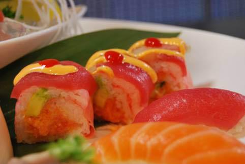 Fushimi Sushi Seafood Buffet traditional fresh