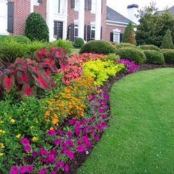 Galvans Lawn & Landscape Flower Bed Creation & Maintentance