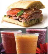 Get sandwiches and smoothies in Mechanicsburg