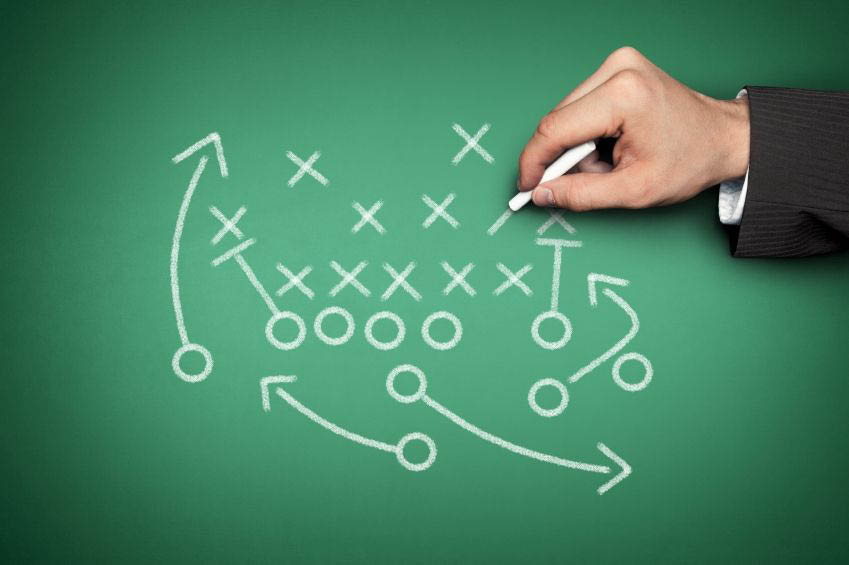 The GamePlan strategy using X's and O's