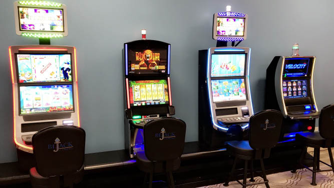 New gaming machines - you can't win if you don't play