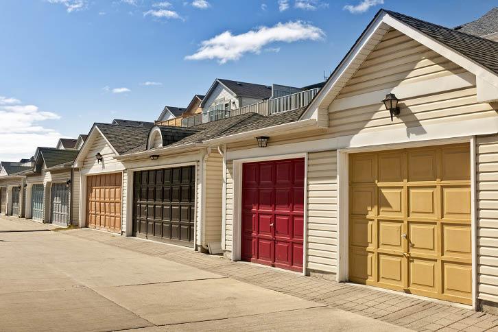 double garages; 2 car garage doors; A-Authentic Garage Door Service; Tucson, AZ