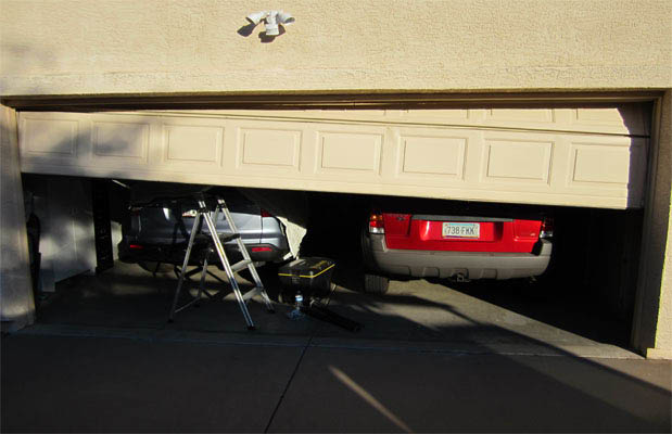 A1 Garage Doors provides routine garage door maintenance